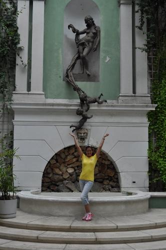 Fountain in Nassau
