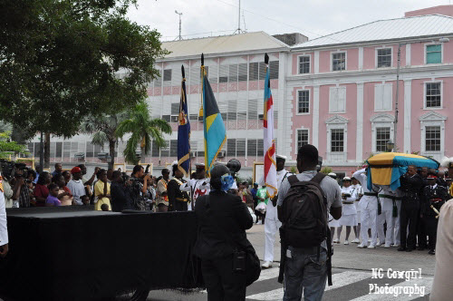Funeral in Nassau