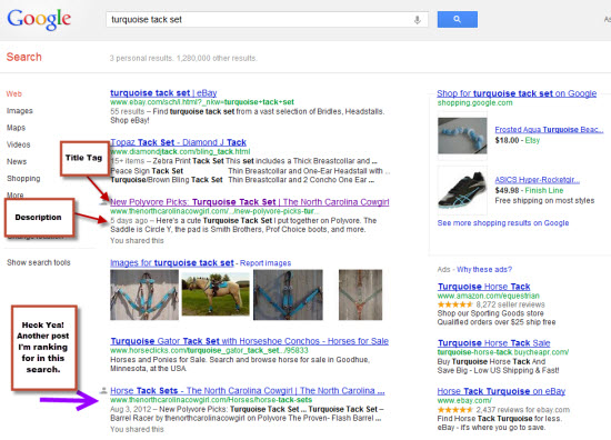 SEO Title Tags and Meta Descriptions