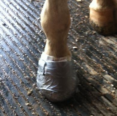Diaper foot