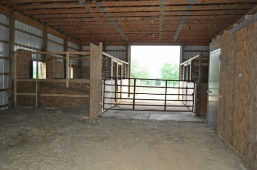 Horse barn improvements part 4 stalls are complete for 4 stall horse barn