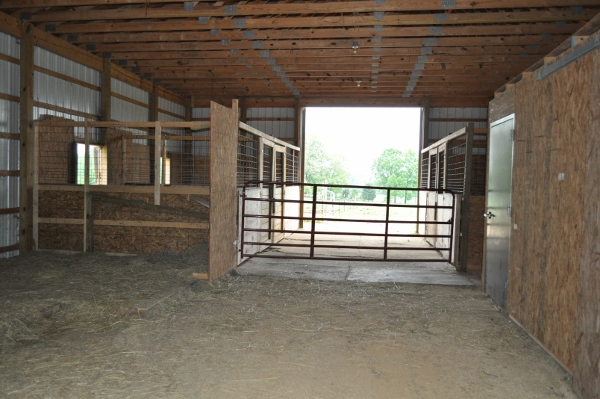 Horse Stalls Before
