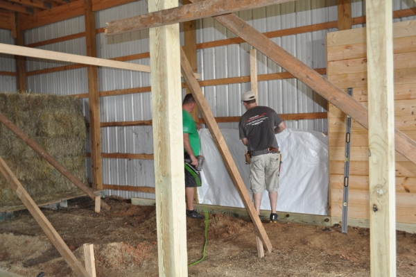 horse stall insulation