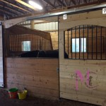 arched stall doors