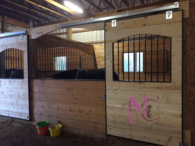 Horse Barn Improvements Part 4 Stalls Are Complete