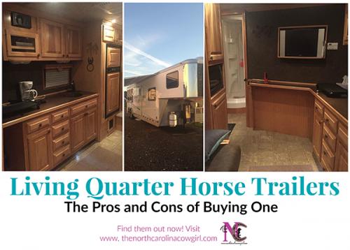 LQ horse trailer