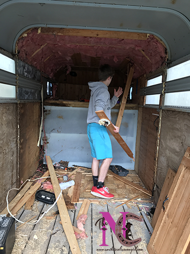 Gutting Horse Trailer